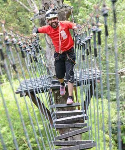 ropes activities- high ropes course- outdoor adventures
