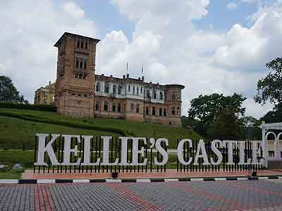Gopeng Attractions- Kellie's Castle- Nomad Adventures