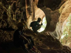 adventure caving at earth camp- nomad adventure